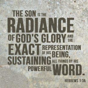 God's radiance